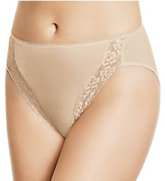 Wacoal Hi-Cut Lace Trim Brief Panties 89371