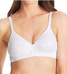 Warner's Daisy Lace Plushline Wire-Free Bra 2009