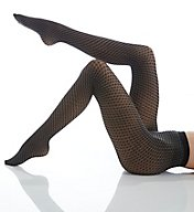 Wolford Cilou Two-Tone Net Tights 14544